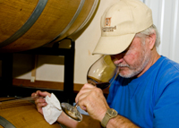 Raymond Meyer, wine-maker