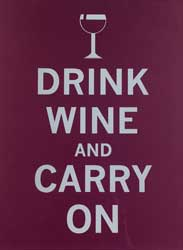 Drink Wine Carry On